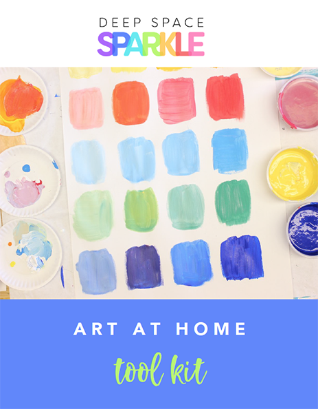 Draw, Paint, Sparkle Art at Home Toolkit